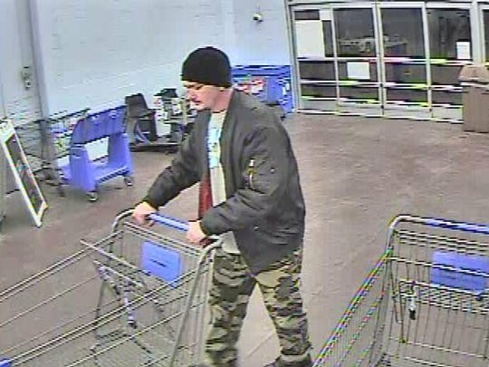 West Manheim Township Police are asking the public's help in identifying a suspect in two retail thefts that took place at the Baltimore Pike Walmart on April 17 and April 20.