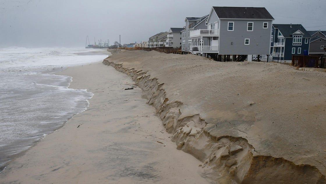 Beach Erosion Singer Island Florida