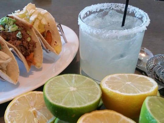 Enjoy Les Tacos and special margarita deals at Avenue.
