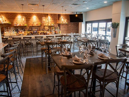 The interior of Salt Seafood and Oyster Bar.