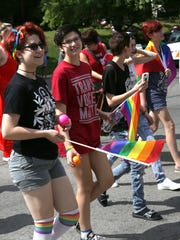 The second annual Mansfield Gay Pride Parade and Festival