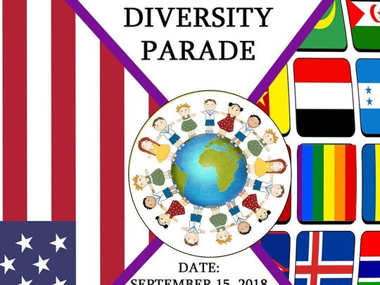 2018 Diversity Parade poster