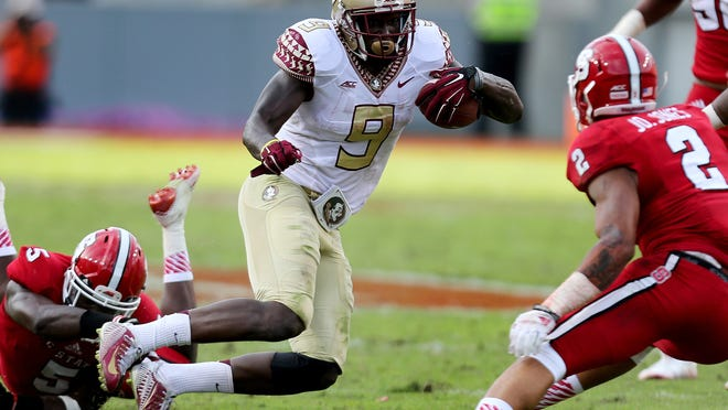 Florida State starting running back Karlos Williams injured his ankle on Saturday against Wake Forest and is likely out for this weekend's game at Syracuse.