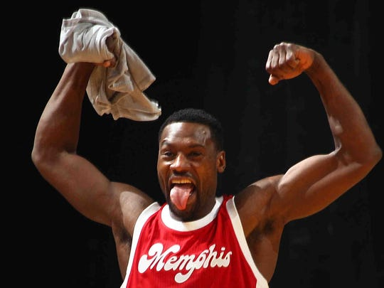 Tony Allen apparently was mighty excited when he learned he appears in the first 'Beifuss File' pop quiz. (Nikki Boertman/The Commercial Appeal)