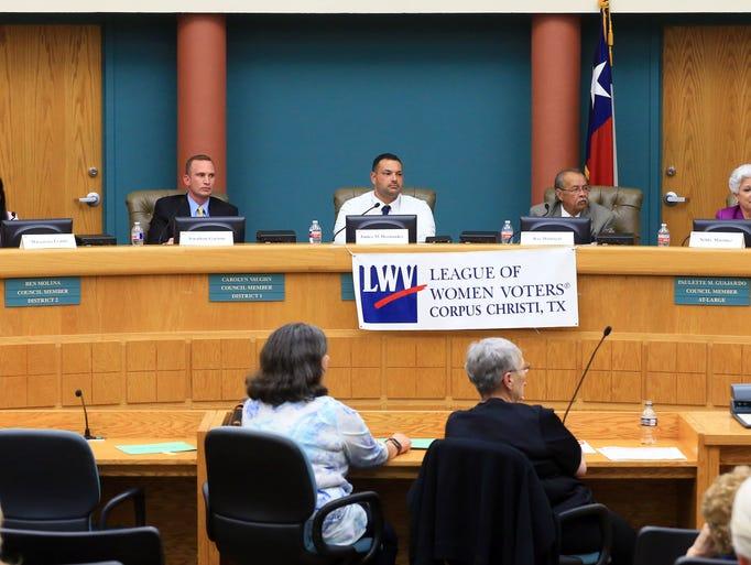 Candidates running for Corpus Christi Mayor attend