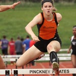 Brighton's Erin Dowd was 21st in the 400-meter hurdles at nationals over the weekend,