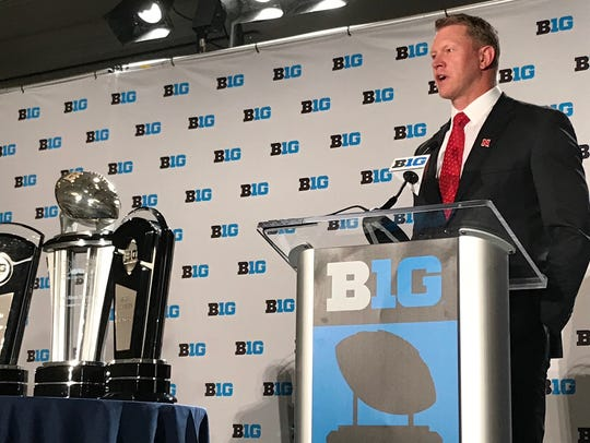 New Nebraska coach Scott Frost, coming off a 13-0 season