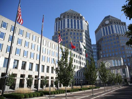 Procter & Gamble's headquarters in downtown Cincinnati