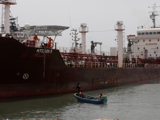 AP NIGERIA HIJACKED SHIP I FILE NGA