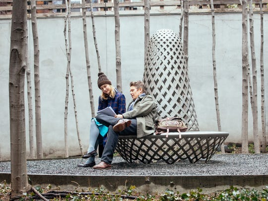 """Greta Gerwig and Ethan Hawke in a scene from """"Maggie's"""