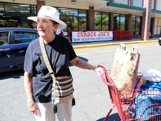 Customer Joan Anthony of Hartsdale talks about shopping