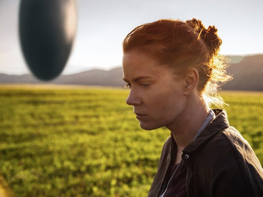 "Amy Adams plays a linguist in the sci-fi drama ""Arrival."""