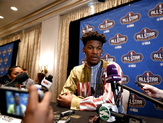 NBA: All Star Press Conference
