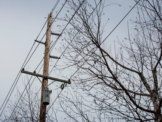 Heavy winds Sunday and Monday have resulted in several DTE Energy customers to be without power in the Blue Water Area.