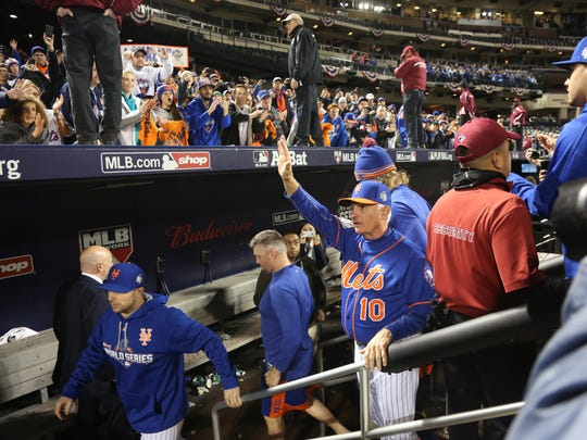 """""""This has been a great ride, a lot of fun, and I'm excited every morning to get up because I know there's challenges ahead and that kind of keeps you going when you're sitting here,"""" Terry Collins said earlier this week."""