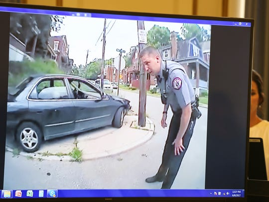 UC police Officer Philip Kidd's body camera footage