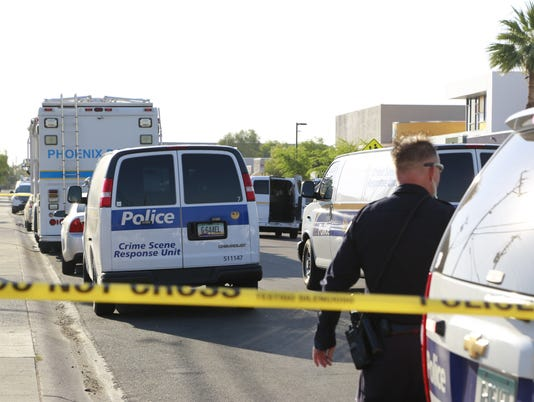 Phoenix Police Department investigating a man's death as a homicide