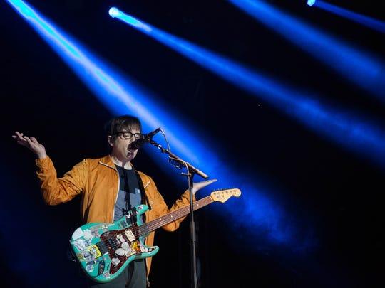 Weezer closed out Forecastle on Sunday night. July