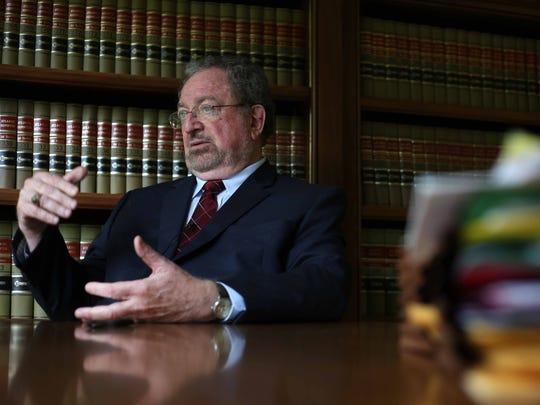 Wilmington attorney Bruce Hudson
