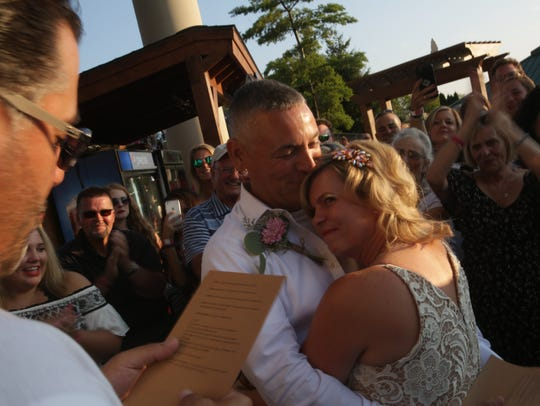 Tobi Randles and Brad Mares got married Aug. 25, 2017
