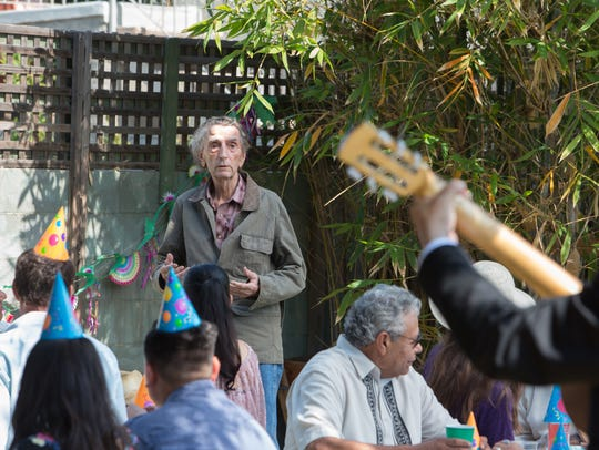 Harry Dean Stanton takes over a birthday party with