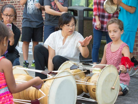 Events such as the Korean Festival at the Delaware