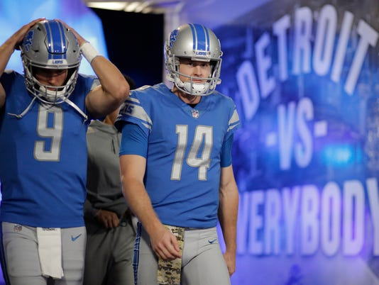 detroit vs. everybody, matthew stafford jake rudock