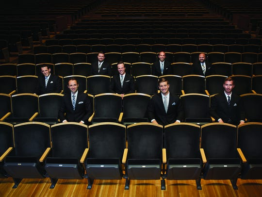"The male vocal ensemble Cantus performs ""Three Tales"
