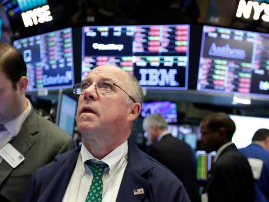 AP APTOPIX FINANCIAL MARKETS WALL STREET F USA NY