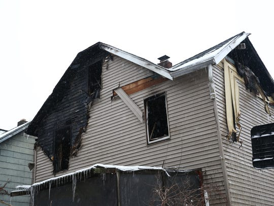 98 Rombout Ave, the scene of a structure fire in the