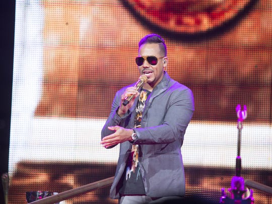 Romeo Santos will perform at Talking Stick Resort Arena in Phoenix on March 29, 2018.