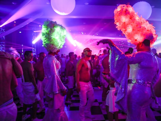 White Party Palm Springs attracts thousands of gay and bisexual men to the desert each spring.