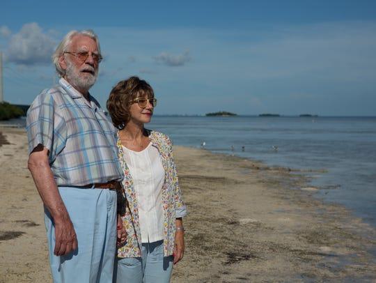Donald Sutherland as John Spencer and Helen Mirren