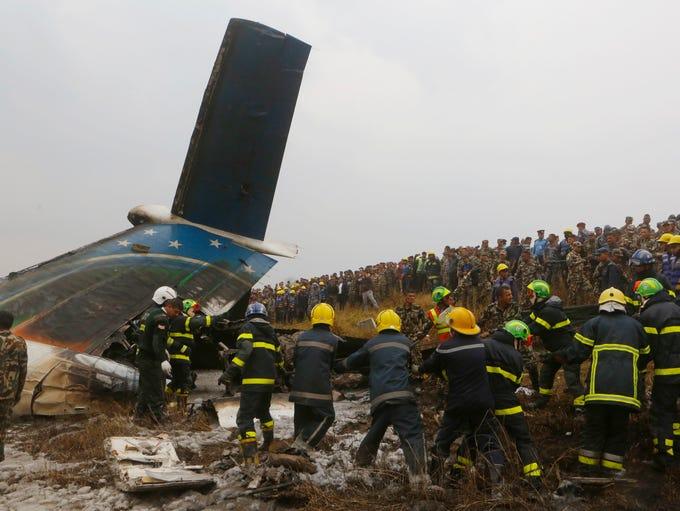 Un avión de pasajeros procedente de Bangladesh que