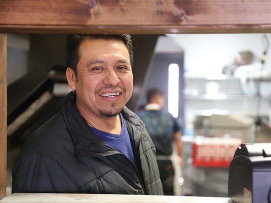 Norberto Garita, a native of Pueblo, Mexico, worked