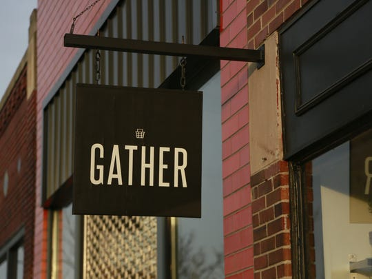 Gather is located at 1454 Gratiot in Detroit's historic