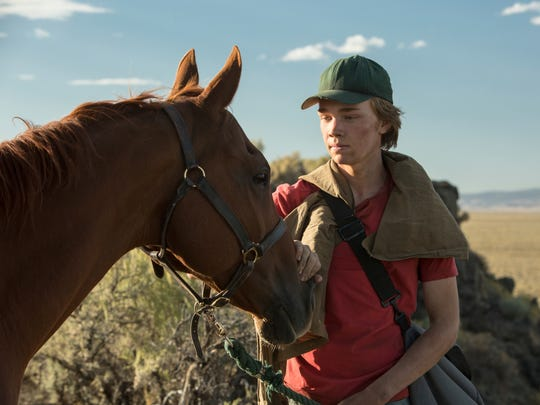 """Charlie Plummer finds comfort and companionship in a racehorse in """"Lean on Pete."""""""