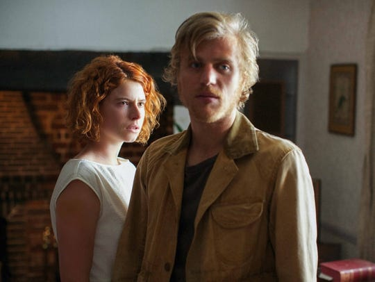 "Johnny Flynn and Jessie Buckley star in ""Beast."""