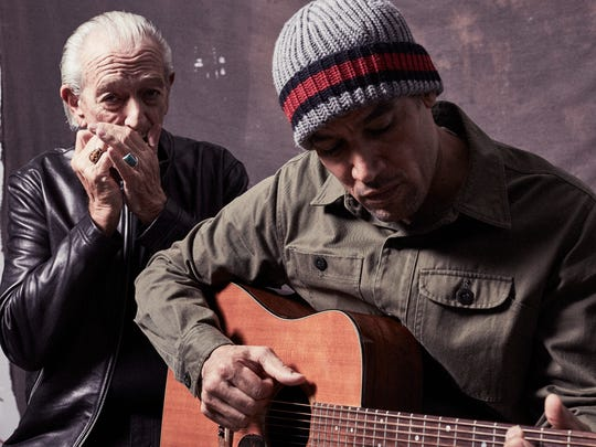 "Ben Harper says he and Charlie Musselwhite made a second blues album together to ""plug into the genre in a unique way."""