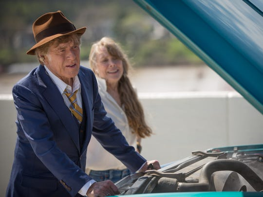 "Robert Redford and Sissy Spacek star in ""The Old Man"