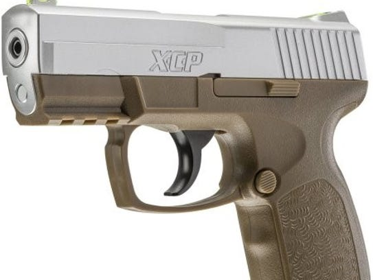 A stock photo of the BB pistol the National Park Service
