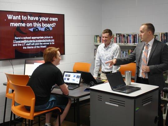 Innovative Classroom Programs : Loveland schools encouraging innovation