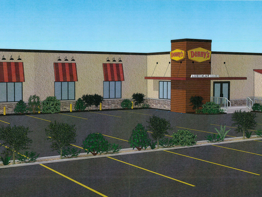 A design of the new Denny's coming to Ocean City.