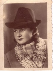 "Celebrating her coming of age as a Jewish adult, Mattil Zaklikovsky, 12, of Monroe, helped uncover the story behind her great-grandmother Mattil Rozensztajn Zaklikovsky's (pictured) survival during the Holocaust. With help from her parents and a Polish researcher, the family that hid her ""Bubby Mattil"" was found."