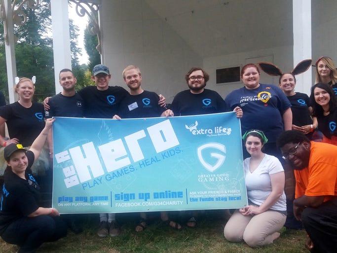 Members of Staunton's Greater Good Gaming: Matthew