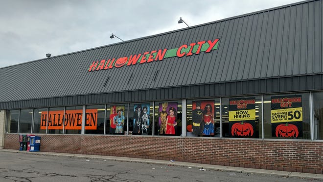 This Halloween City on Five Mile in Livonia was broken into earlier this week.