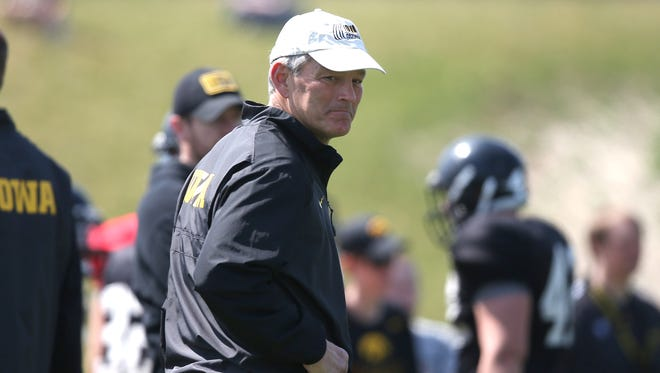 The 2015 season is a big one for Iowa coach Kirk Ferentz.