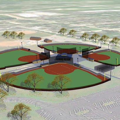 A conceptual drawing of the new four-field complex