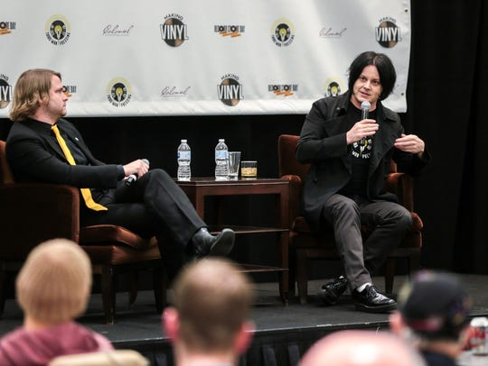 Jack White speaks about Third Man Pressing and his