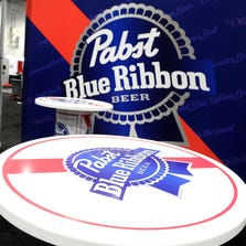 LAS VEGAS, NV - MARCH 21:  View of the Pabst Blue Ribbon booth during the 28th annual Nightclub & Bar Convention and Trade Show at the Las Vegas Convention Center on March 21, 2013 in Las Vegas, Nevada.  (Photo by David Becker/Getty Images for Nightclub & Bar Media Group)